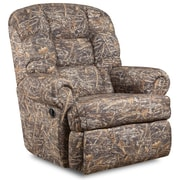 Flash Furniture Big and Tall 350lb Capacity Camouflaged Encore Conceal Brown Fabric Recliner (AM99301355)