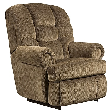 Flash Furniture Microfiber Big and Tall Recliner with 350lb Capacity, Gazette Basil, AM99307980