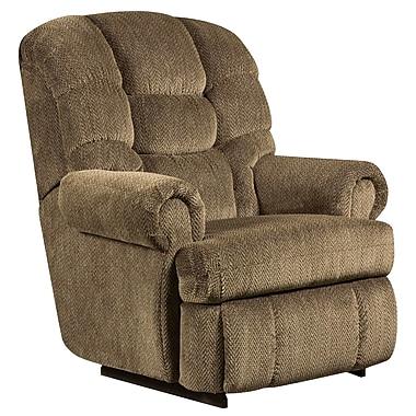 Flash Furniture – Fauteuil inclinable Big and Tall d'une capacité de 350 lb, tissu en microfibres basilic (AM99307980)