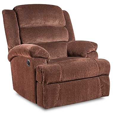 Flash Furniture Big and Tall 350lb-Capacity Aynsley Microfiber Recliner, Claret (AM99607921)