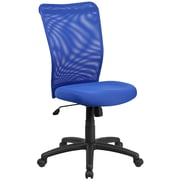 Flash Furniture CY54ABL High-Back Blue Mesh Executive Ergonomic Swivel Office Chair