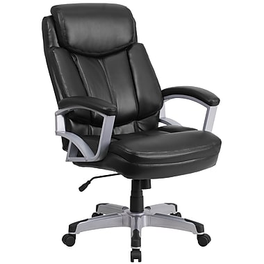 flash furniture hercules series go18501lea 500lb capacity big and tall black leather executive swivel office chair bedroomattractive big tall office chairs furniture