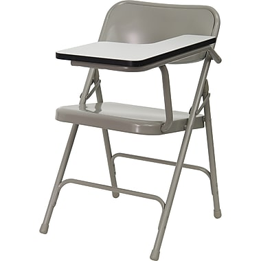 Flash Furniture Premium Steel Folding Chair with Left Handed Tablet Arm (HF309ASTLFT)