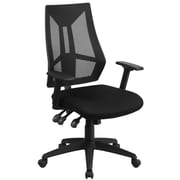 Flash Furniture High-Back Mesh Swivel Task Chair with Triple Paddle Control, Black (HL0017)