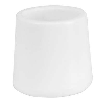 Flash Furniture White Replacement Foot Cap for Plastic Folding Chairs LEL3WHCAPS