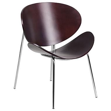 Flash Furniture Bentwood Leisure Reception Chair, Mahogany (SD22687MAH)