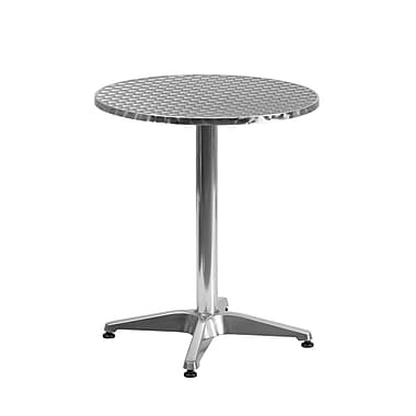 Flash Furniture 23.5'' Round Aluminum Indoor/Outdoor Table with Base (TLH0521)