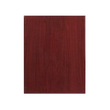Flash Furniture 24'' x 30'' Rectangular Resin Table Top, Mahogany (TPMAH2430)