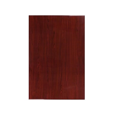 Flash Furniture 30'' x 45'' Rectangular Resin Table Top, Mahogany (TPMAH3045)