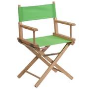 Flash Furniture Standard-Height Directors Chair, Green (TYD02GN)