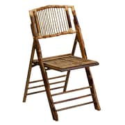 Flash Furniture American Champion Bamboo Folding Chair (X62111BAM)
