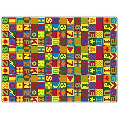 Flagship Carpets Educational Floors That Teach Area Rug; 12' x 15'
