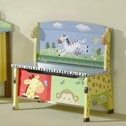 Fantasy Fields Sunny Safari Kids Bench w/ Storage Compartment