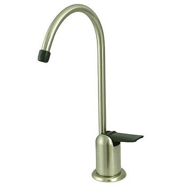 Kingston Brass Americana Gourmetier Water Filtration Kitchen Faucet; Satin Nickel