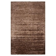 Surya Haize Hot Cocoa Solid Area Rug; 5' x 8'