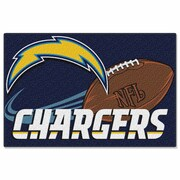 Northwest Co. NFL Chargers Mat