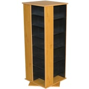 Venture Horizon VHZ Entertainment 928 CD Multimedia Revolving Tower; Black & Oak