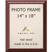 Amanti Art Luminous Picture Frame Contemporary; 14'' x 18''