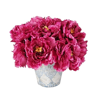 Creative Displays, Inc. Magenta Peony Bouquet in