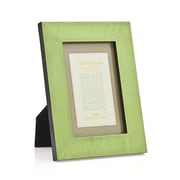 Philip Whitney Marquetry Picture Frame; Light Green