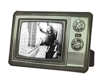 Philip Whitney Retro Television Picture Frame; 5'' H x 7'' W WYF078277890296