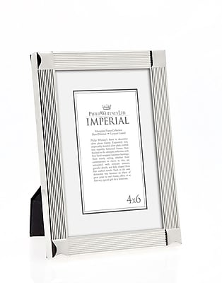 Philip Whitney Imperial Corners Picture Frame; 4'' x 6'' WYF078277890134