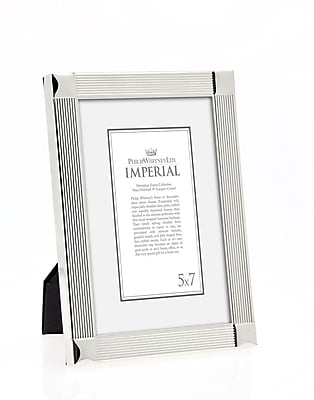 Philip Whitney Imperial Corners Picture Frame; 5'' x 7'' WYF078277890135