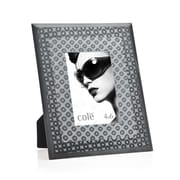 Philip Whitney 3D Circles Picture Frame; Black