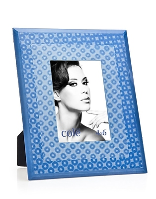 Philip Whitney 3D Circles Picture Frame; Blue WYF078277890165