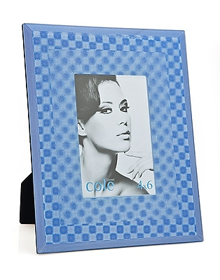 Philip Whitney 3D Square Picture Frame; Blue WYF078277890190
