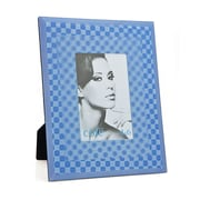 Philip Whitney 3D Square Picture Frame; Blue
