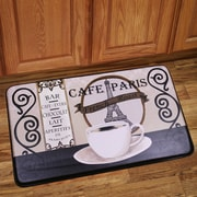 Sweet Home Collection Paris Caf  Mat