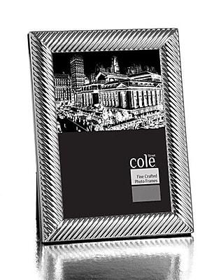 Philip Whitney Diagonal Design Picture Frame; 5'' x 7'' WYF078277890110
