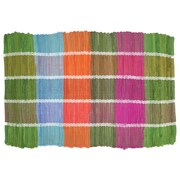 Imports Decor Colored Plaid Doormat