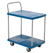 Vestil 500 lbs 2 Shelf Platform Utility Cart