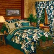 Blue Ridge Trading Dogs and Ducks Comforter Set; Twin