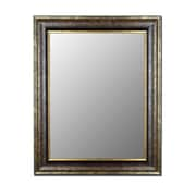 Hitchcock Butterfield Company Cameo Collection Mirror in Vintage Sennaca Gold; 34'' W x 46'' H