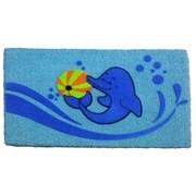 Imports Decor Dolphin Beach Ball Doormat