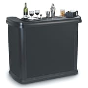 Carlisle Food Service Products Maximizer  Portable Bar; Black