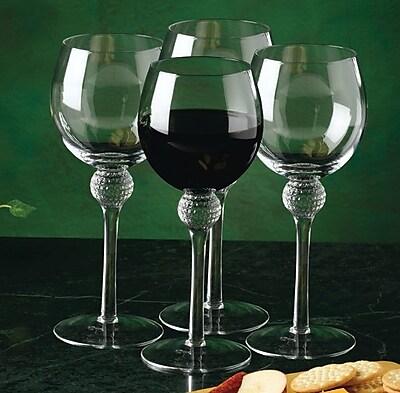 Golf Gifts & Gallery Golf Wine Glass (Set of 4) WYF078277958611