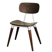 New Pacific Direct Arlo Side Chair; Espresso / Silver