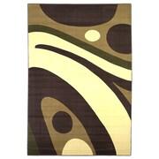 KAS Rugs Moda Plum/Ivory Galaxy Rug; 20'' x 31''