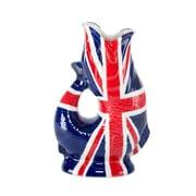 Wade Ceramics Gluggle Jugs UK Flag Pitcher; 10'' H x 3.8'' W x 5.8'' D