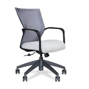 Via Seating Conference Seating Mesh Desk Chair; Blue