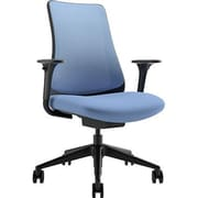 Via Seating Task Seating Mesh Desk Chair; Blue