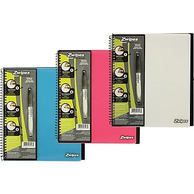Zwipes Customizable Notebook, 8-1/2