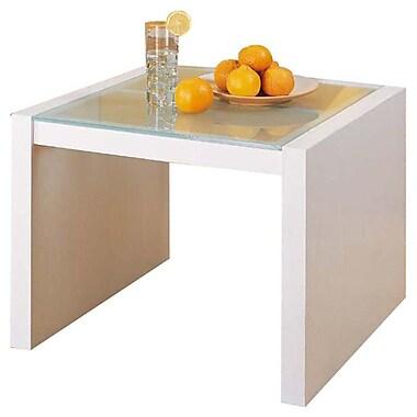 OIA Dawn Coffee Table w/ Glass Top