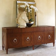 Global Views French Key Everything Cabinet; Dark Oak