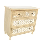 Crestview Veranda 3 Drawer Mirror Chest