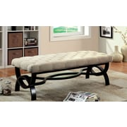 Hokku Designs Emellie Wood Bedroom Bench; 19.5'' H x 25'' W x 56.5'' L